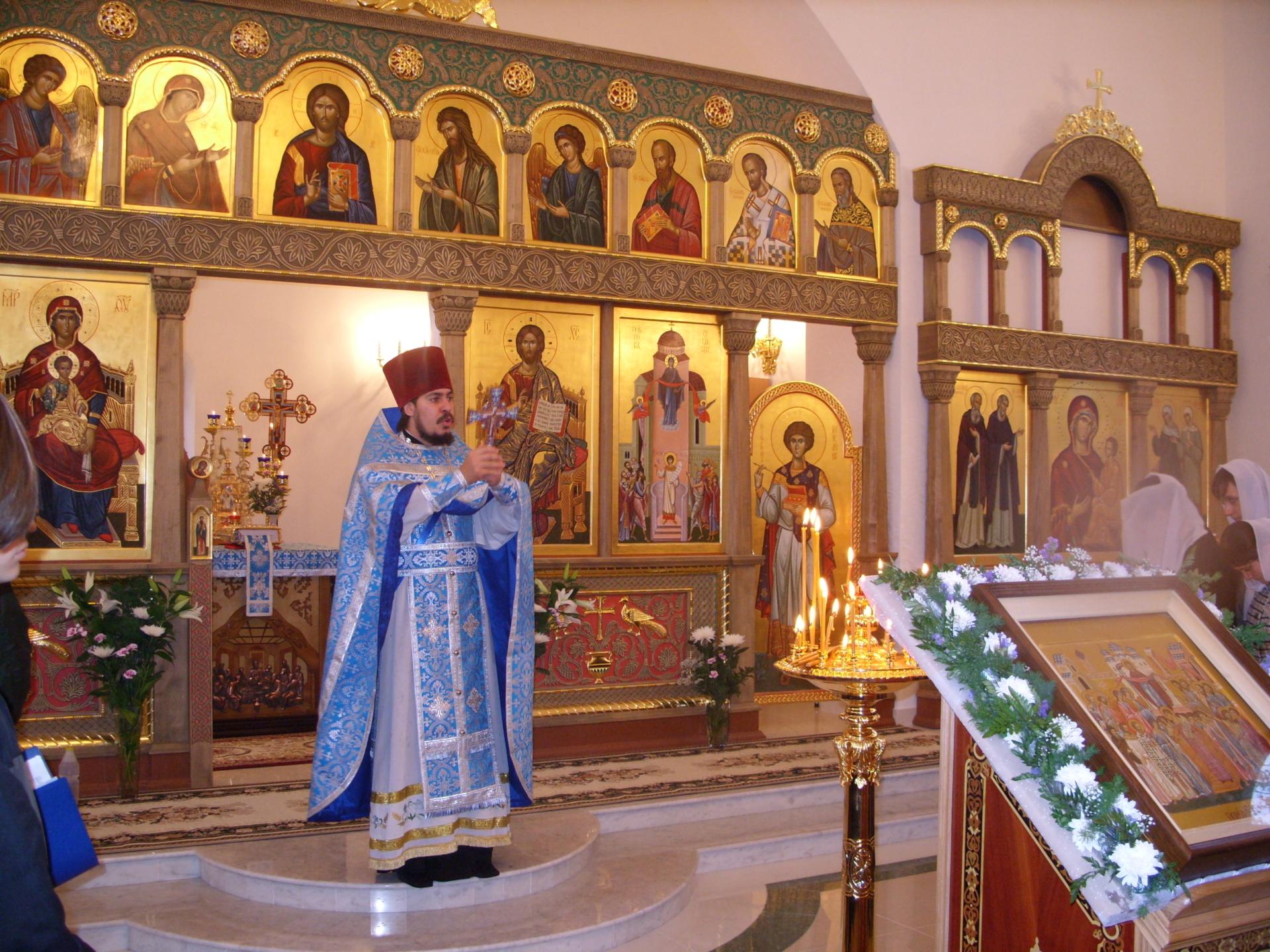 Покровский храм села Тешелка