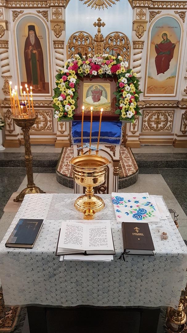 Храм в честь иконы Божией Матери «Спорительница хлебов»