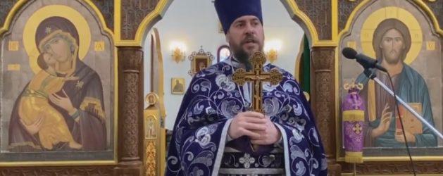 Проповедь протоиерея Димитрия Лескина в неделю 1-ю Великого поста. Торжество Православия