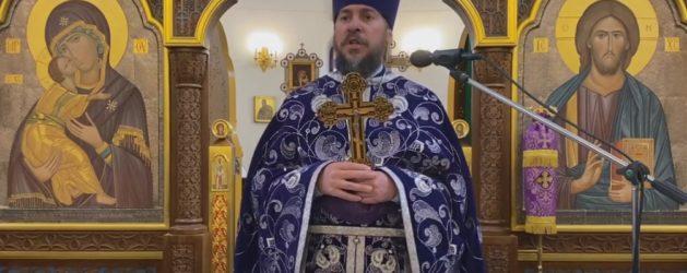 Проповедь протоиерея Димитрия Лескина в Неделю 3-ю Великого поста, Крестопоклонную